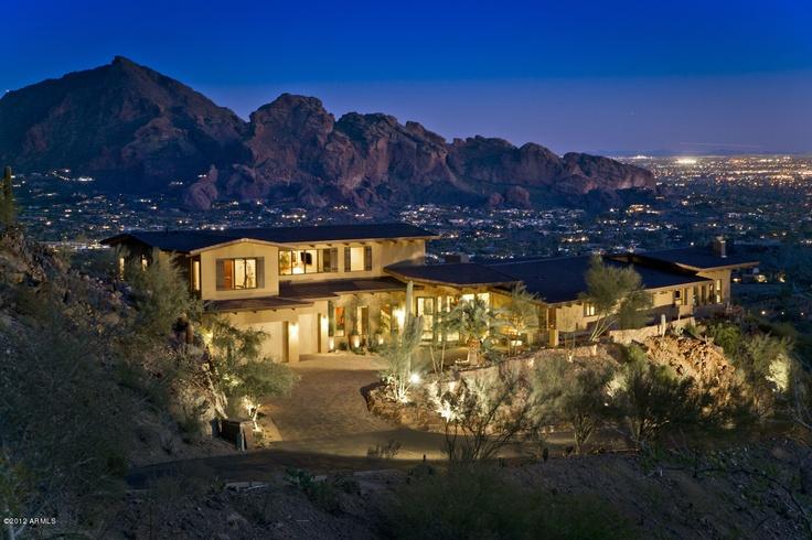 Arizona Luxury Homes Arizona Homes Pinterest