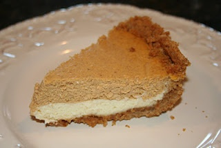 Double Layer Pumpkin Cheesecake | HoLiDAys! | Pinterest