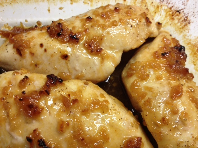Honey Garlic Roasted Chicken Breasts | Fooooooodddd | Pinterest