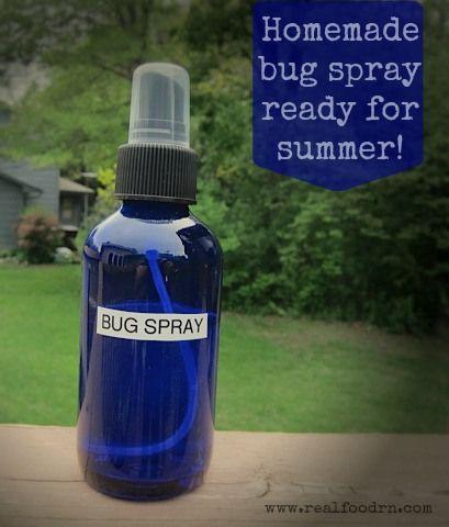 homemade thieves bug spray