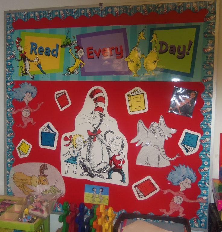 March is Reading Month bulletin board | Bulletin boards | Pinterest