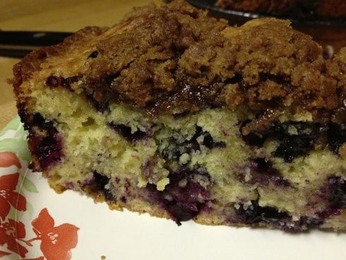 blueberry muffin cake | Cakes Pies and Heaven | Pinterest