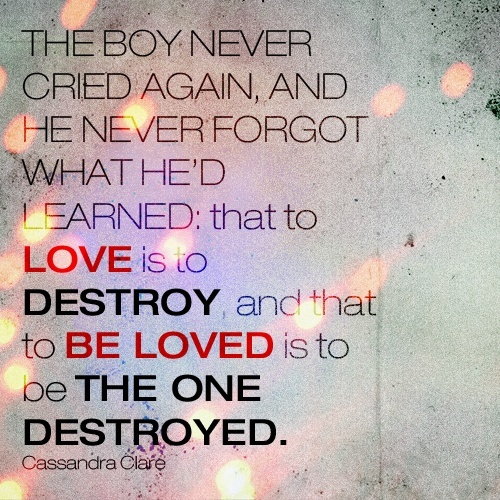 Quotes From Mortal Instruments City Of Bones City Of Bones T...