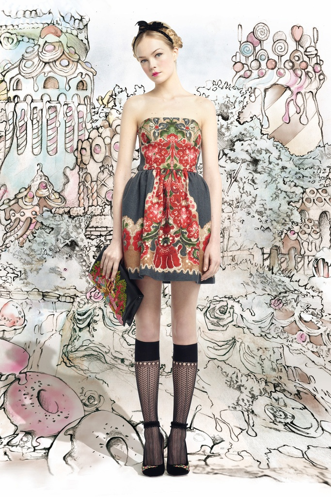 Red Valentino, Kenzo, Opening Ceremony, Shoe, dresses, tops, Prada, Acne, Celine, Sacai, Comme Des Garcons, Givenchy, 2012, 2013, spring, fall,