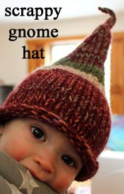 Knit / gnome hat