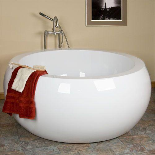 61 Arturi Round Acrylic Soaking Tub BATHROOM Pinterest