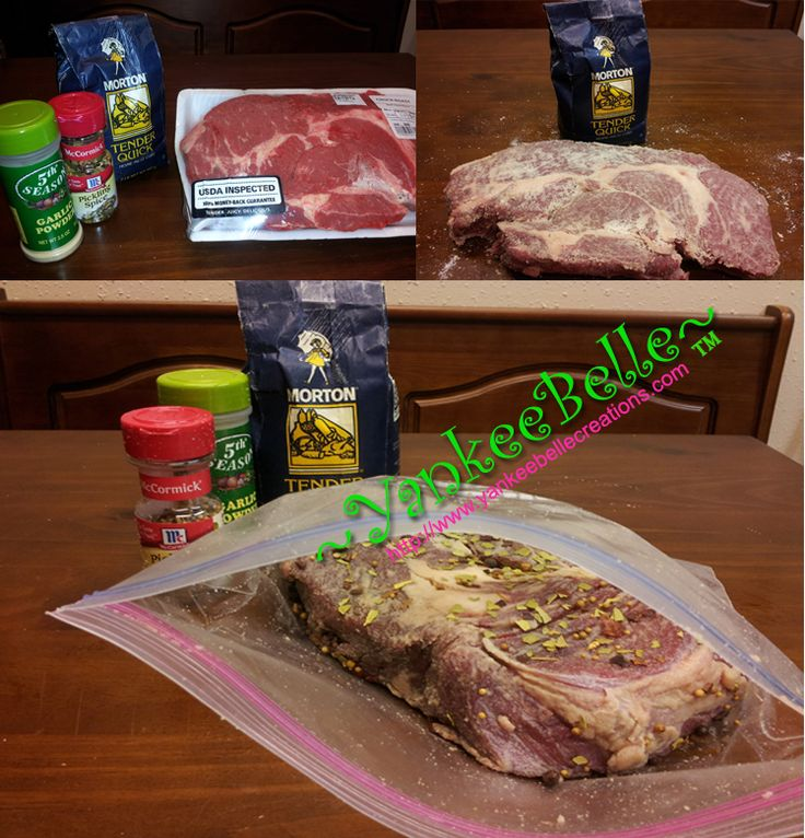 Did you cure your brisket or roast to make homemade Corn Beef ...