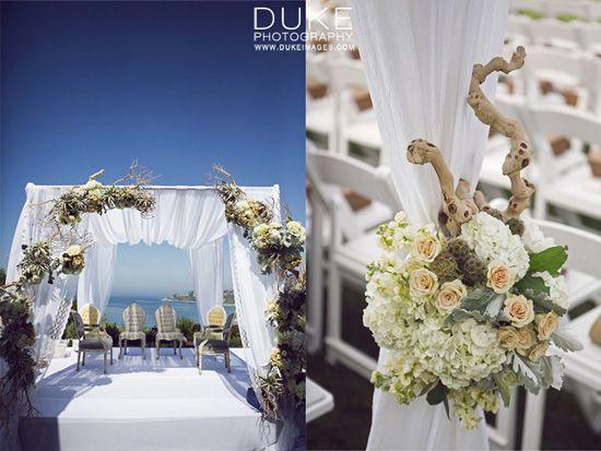outdoor beach wedding decor white theme  outdoor indian weddings  P