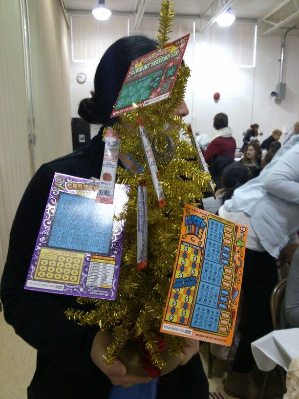 how to make a lottery tree
