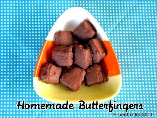 Gluesticks: Homemade Butterfingers | Party Ideas | Pinterest