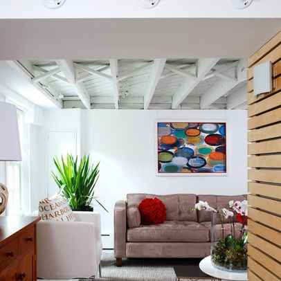 white painted basement ceiling home decor pinterest