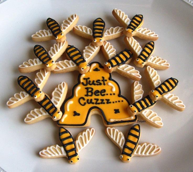 JUST BEE Cuzzzzzzzzzzz - Bumble Bee Cookies - 13 cookies. $20.99, via ...