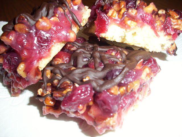Cranberry Turtle Bars | {Recipes} Favorite Recipes | Pinterest