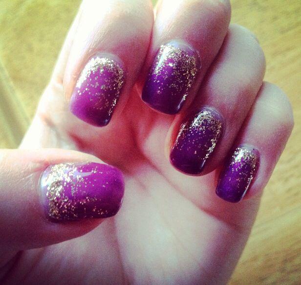 Fall shellac manicure!