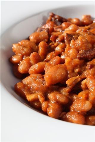 Maple baked beans | Food: Beans | Pinterest