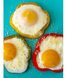 Eggs in Bell Peppers - A twist on your breakfast routine