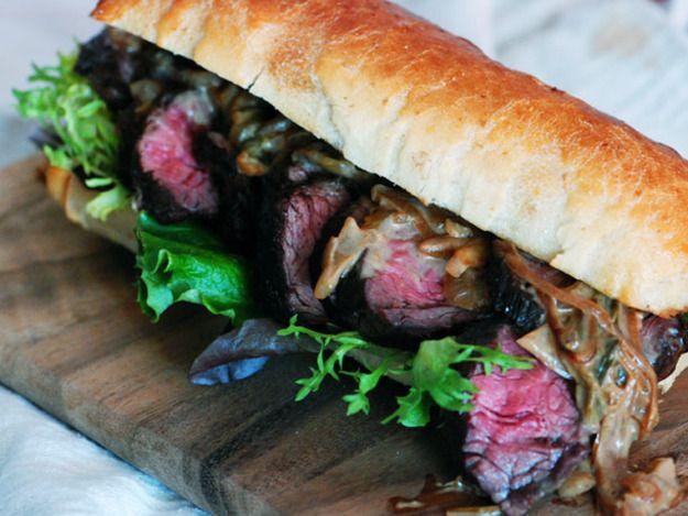 Steak with Caramelized Onion-Jalapeño Sauce | Serious Eats : Recipes