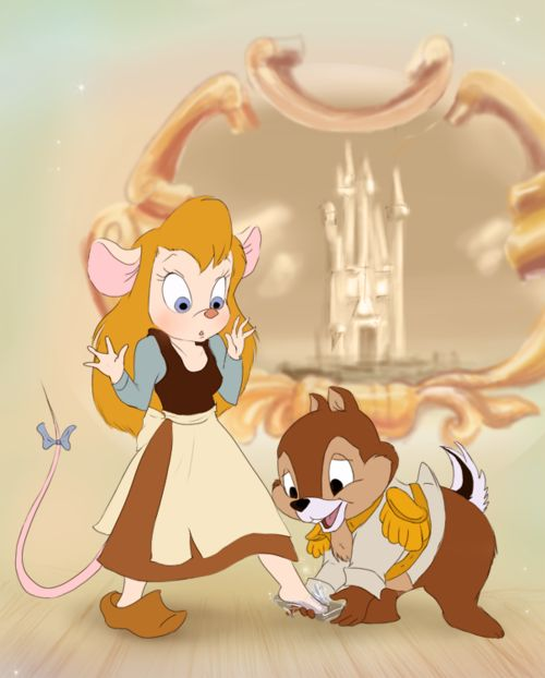 Cinderella starring Chip and Dale