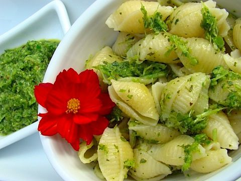 Garlic Scape Pesto | Food & Drink | Pinterest