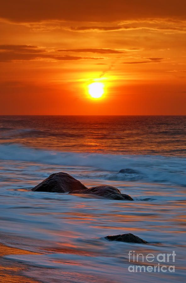 Ocean Sunrise  Count your blessings  Pinterest