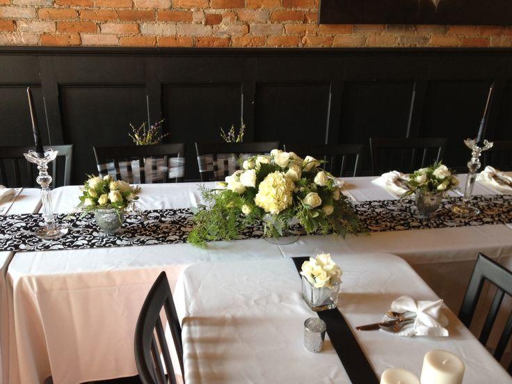 Dress rehearsal dinner table decor ideas nate sarah 39 s for Wedding table dressing ideas