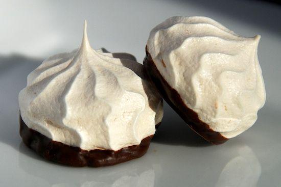 dipped cookies | Stylish Cuisine « Chocolate Dipped Meringue Cookies