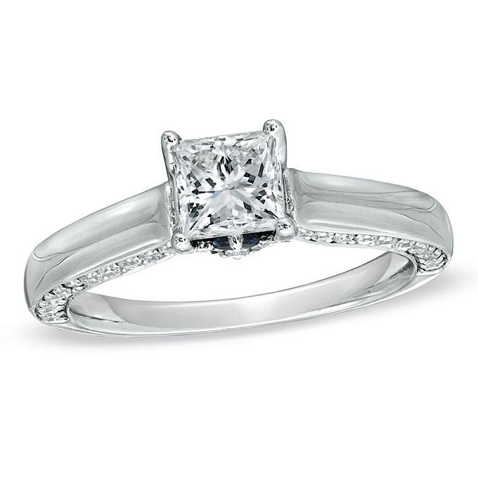 rings under 5000 dollars Princess cut diamond engagement ring Princess ...