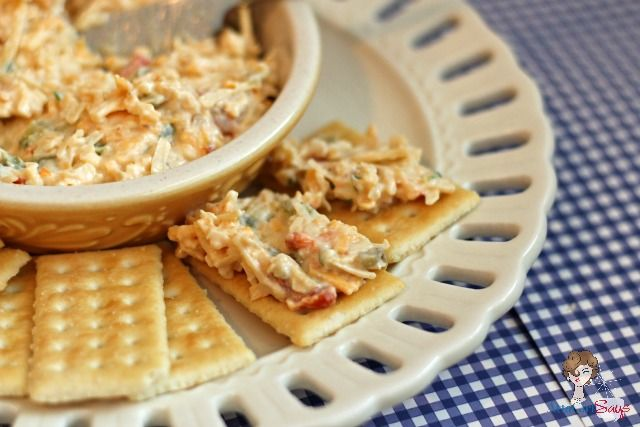 Homemade Three-Cheese Pimento Cheese Party Spread | Recipe