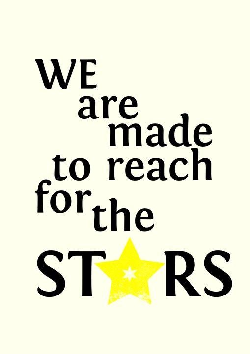 reach for the stars  School Stuff  Pinterest