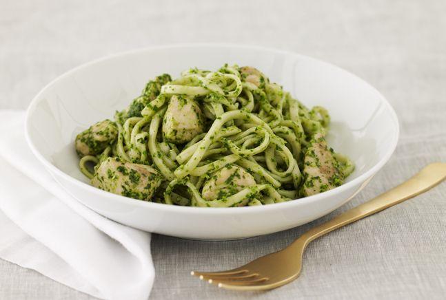 Pesto Pasta with Chicken | Recipe | Joy of Kosher with Jamie Geller