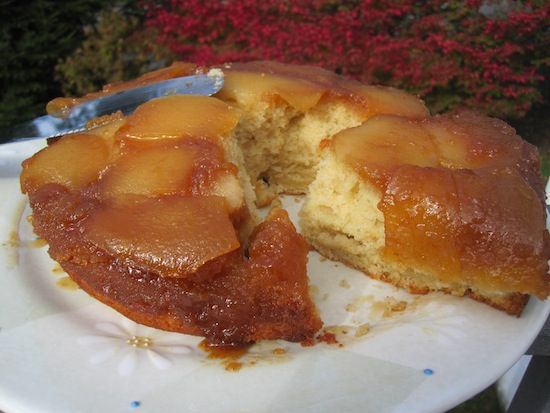 Pear Upside Down Cake   Cakes   Pinterest