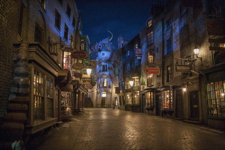Diagon Alley bei Nacht