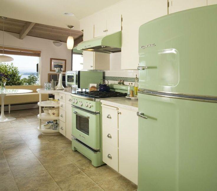 Pretty Green And Cream Kitchen Home Decor Pinterest