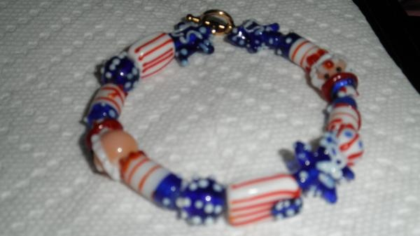 fourth of july bracelet craft