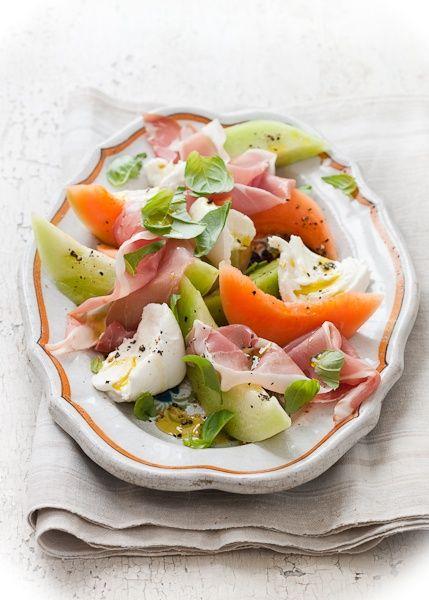 melon and prosciutto salad | Food [Salad] | Pinterest
