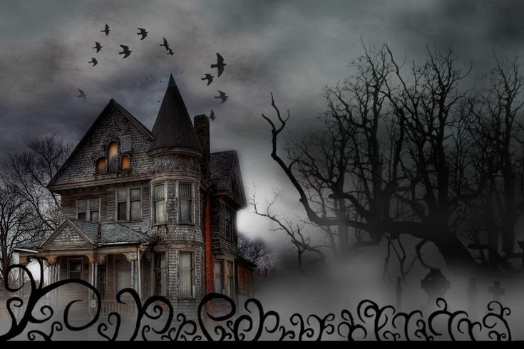 Haunted house tattoo ideas pinterest for Pinterest haunted house
