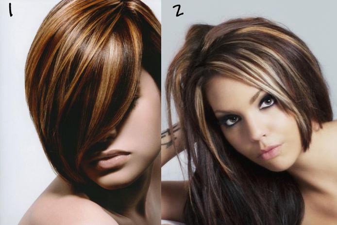 Burgundy Highlights | MakeupPolishObsessed.com: Hair Color Help