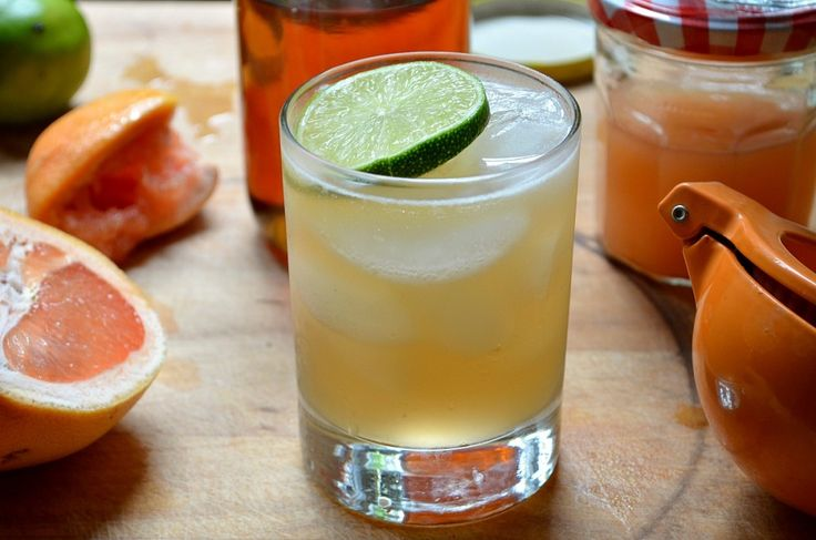 Spicy Grapefruit and Chipotle Cocktail - Three Many Cooks