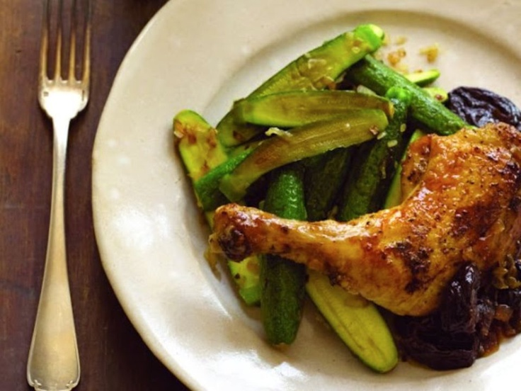 Chicken with Prunes and Oregano - Passover Recipe