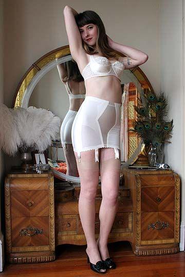 Stocking clad older lady Miss MelRose revealing small tits beneath lingerie № 683039 без смс