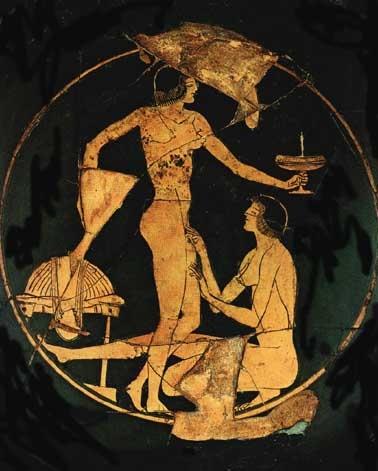 Classical greek erotica
