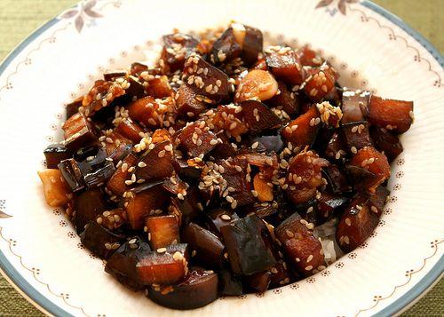 Sweet and Sour Eggplant | vegetarian/vegan | Pinterest