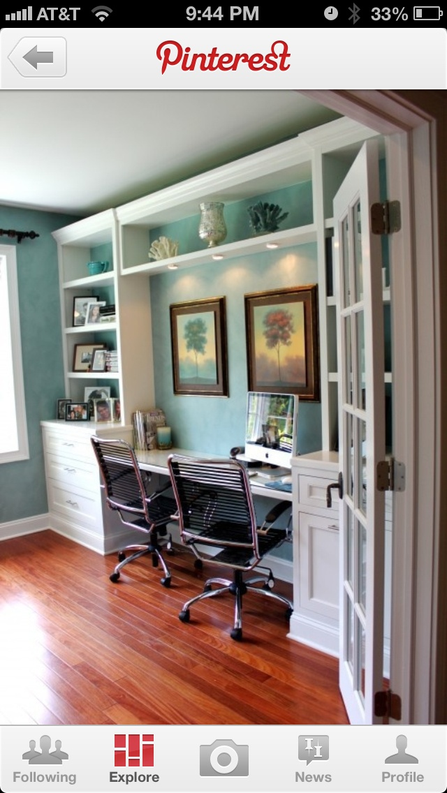 home office built in future home pinterest