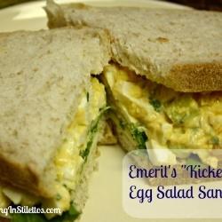 Emeril's Kicked Up Egg Salad | Food and Drink | Pinterest