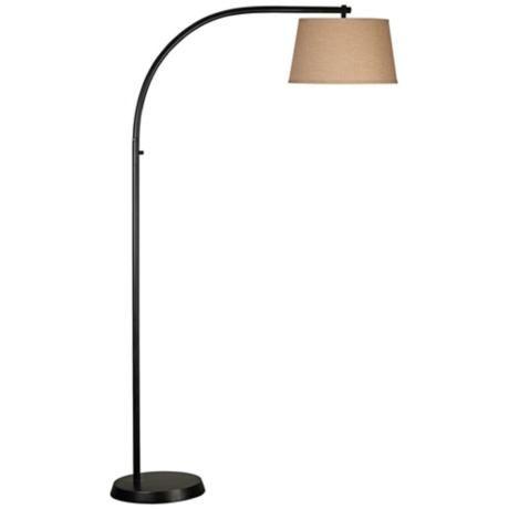 kenroy sweep oil rubbed bronze arc floor lamp. Black Bedroom Furniture Sets. Home Design Ideas