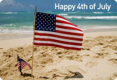 fourth of july beach images