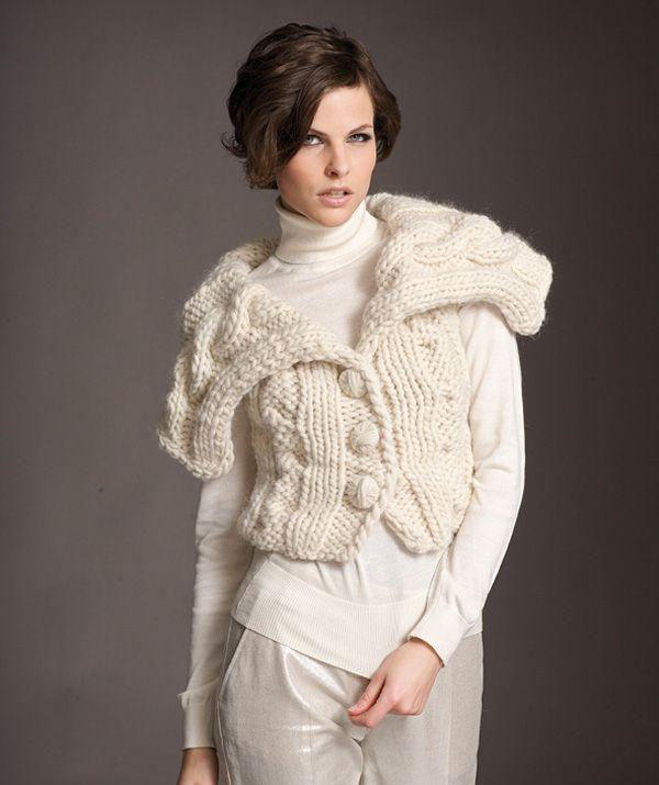 Free Ladies Waistcoat Knitting Patterns : Ladies Waistcoat - free Knitting for Women Pinterest