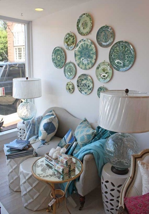 Livelovediy Using Plates As Wall Art Crafty Ideas Pinterest