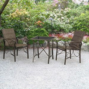Traditional Sling 3-Piece Bistro Set