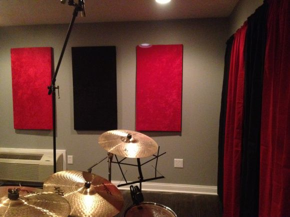 Diy soundproof panels crafty pinterest for How to soundproof my house